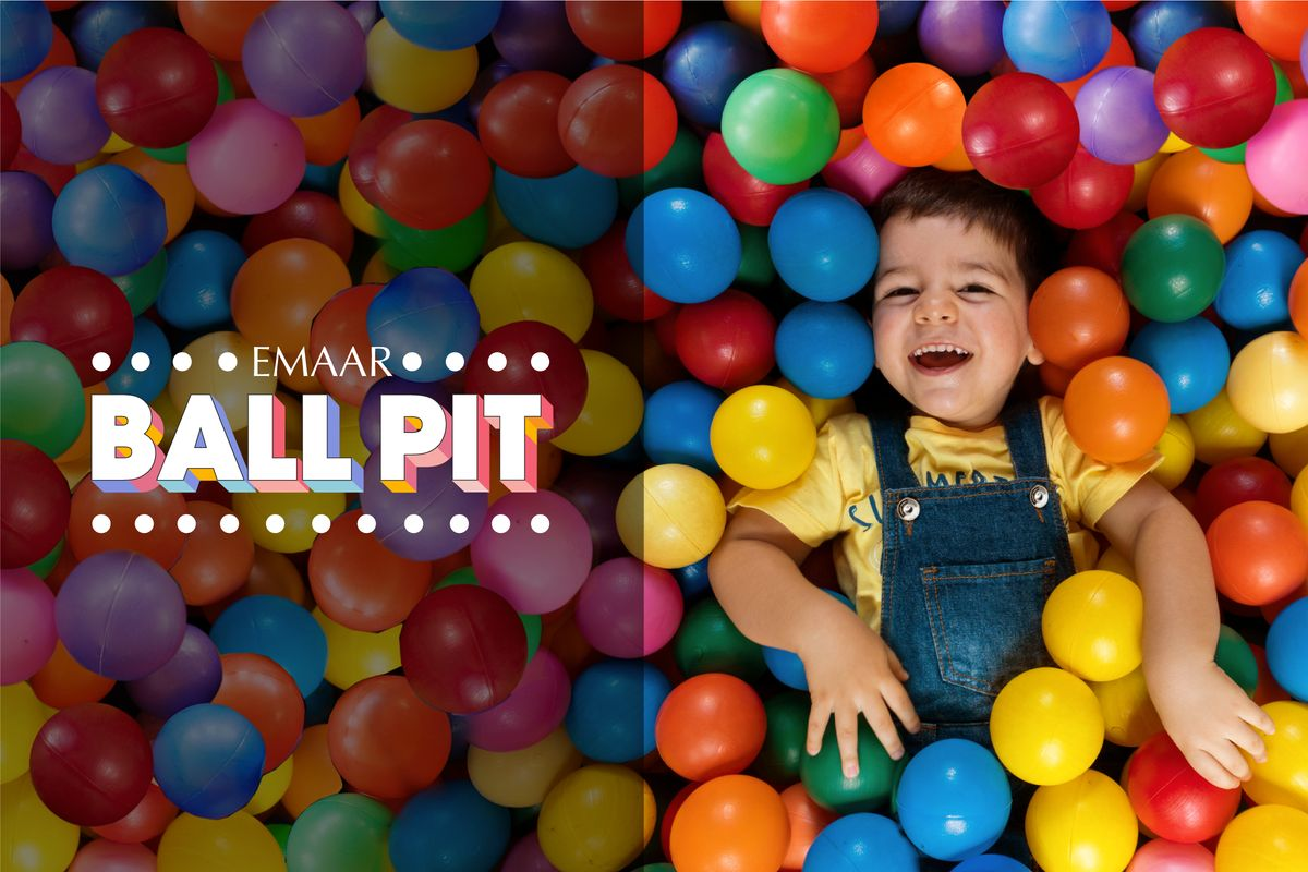The Giant Ball Pit at Emaar