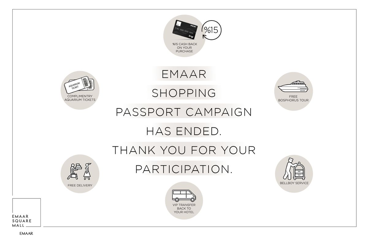 Emaar Shopping Passport Campaign Has Ended.