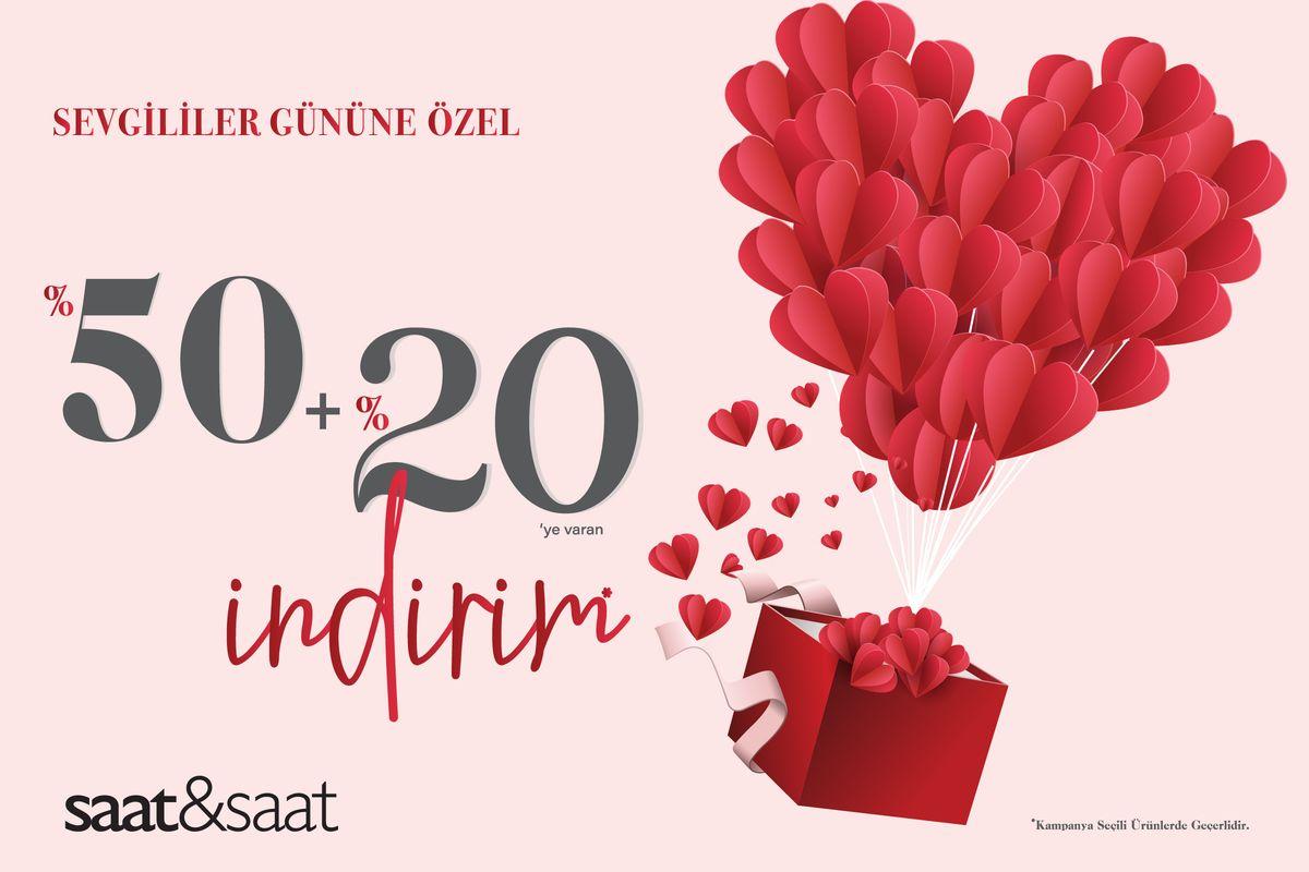 Sevgililer Günü'ne Özel İndirim